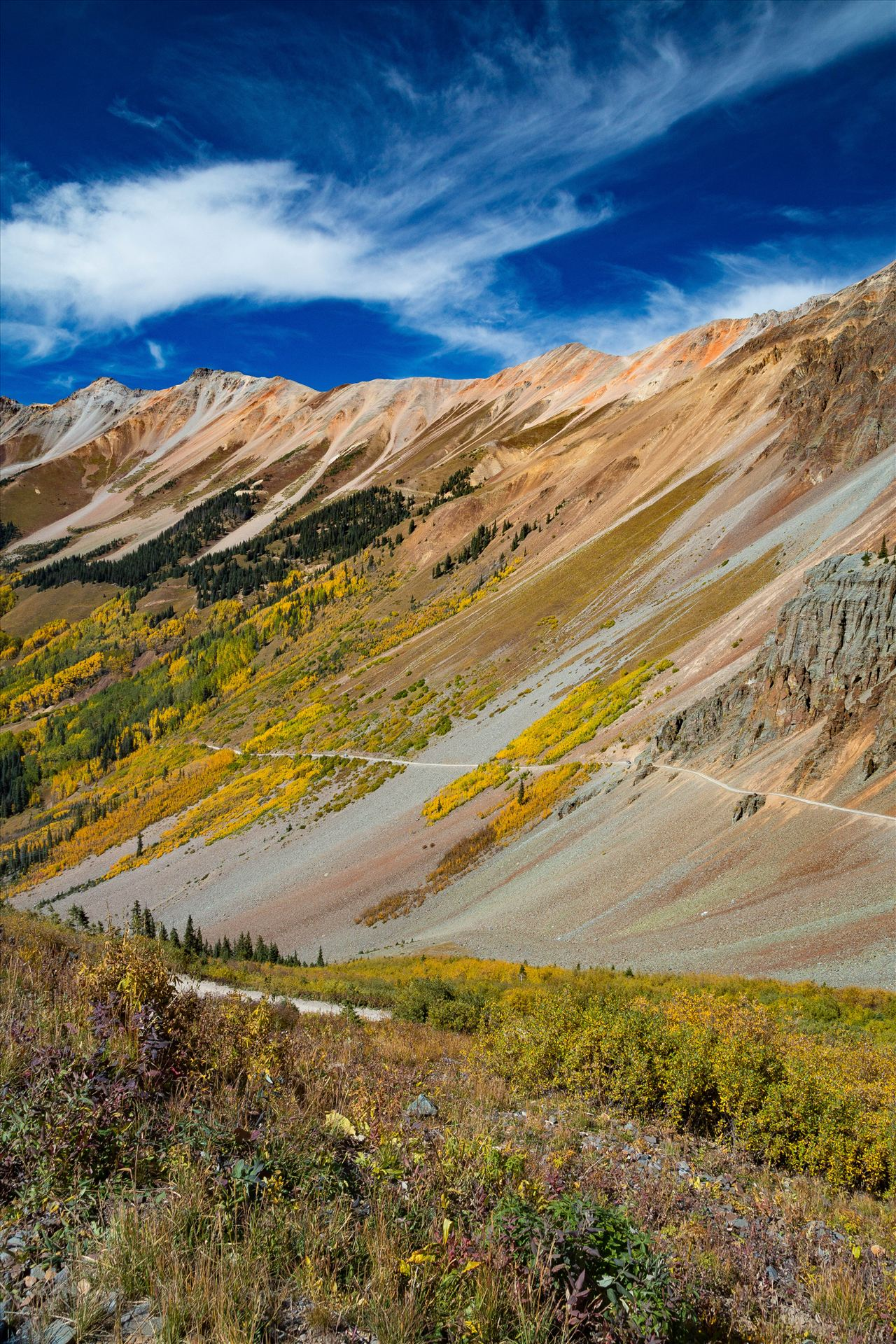 Ophir Pass 3 Ophir Pass, between Ouray and Silverton Colorado in the fall. by Scott Smith Photos