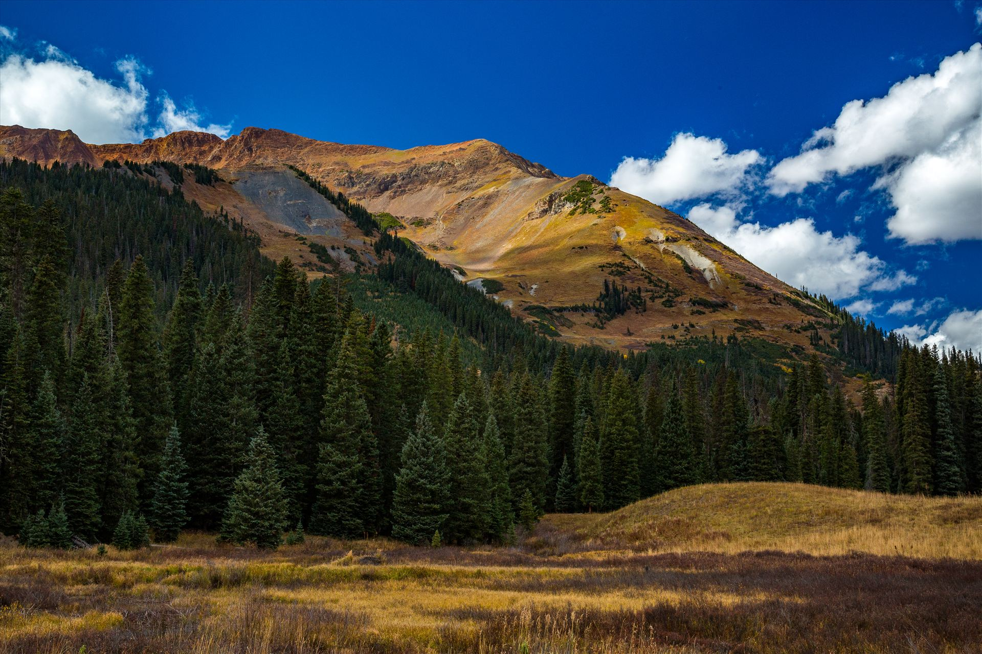 Mount Baldy Mount Baldy from Gothic Road, north of Crested Butte. by Scott Smith Photos