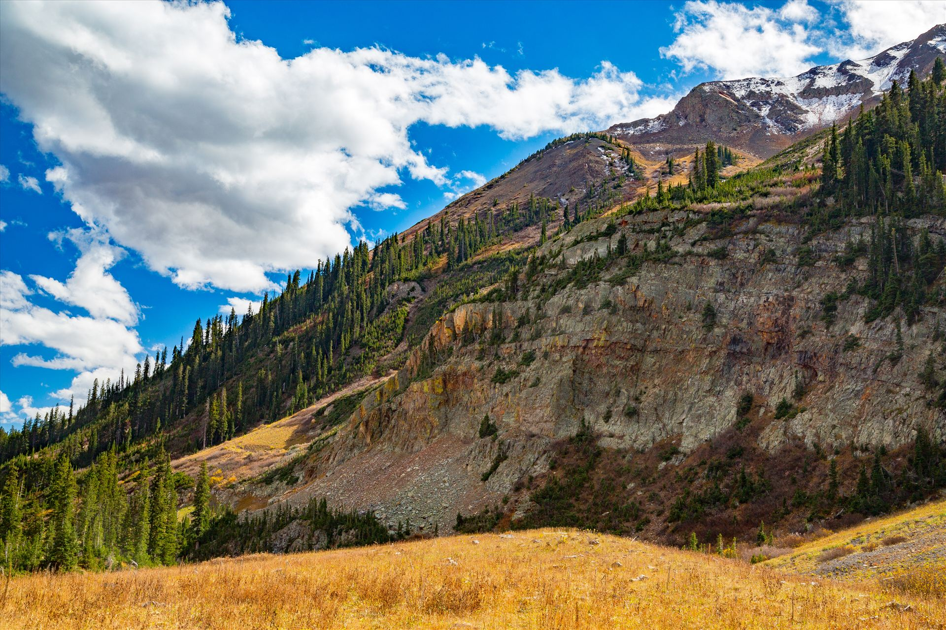 Gothic Road 3 The view from Gothic Road heading north of Mt Crested Butte in October. by Scott Smith Photos