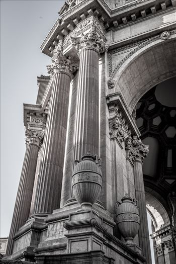 Palace of Fine Arts Detail by Scott Smith Photos