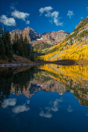 Maroon Bells and Maroon Lake No 1 by Scott Smith Photos