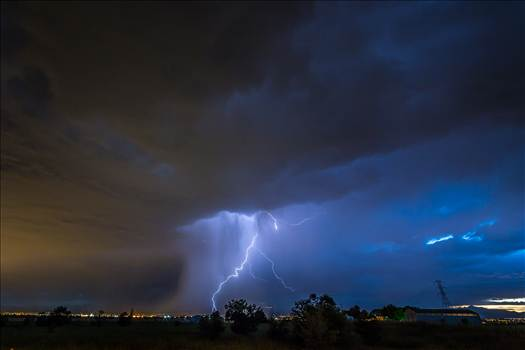 Lightning Flashes 8 by Scott Smith Photos