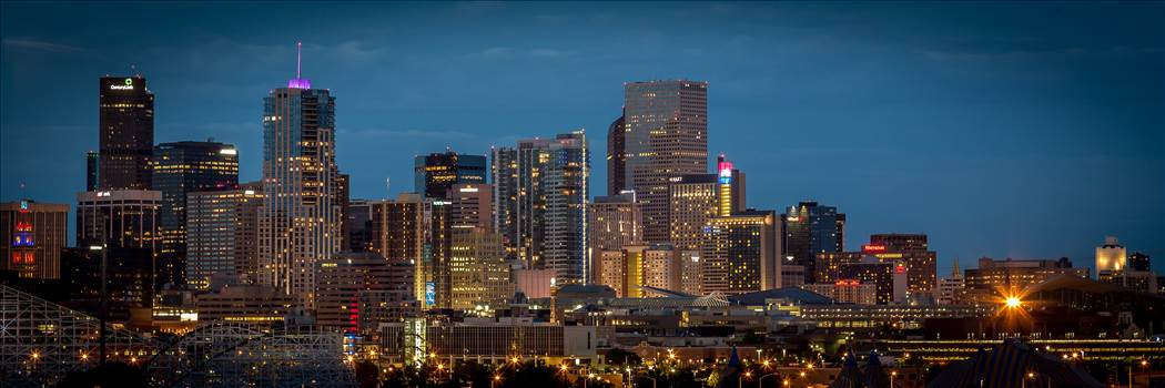 Denver at Night by Scott Smith Photos