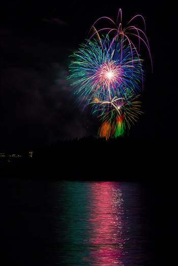 Dillon Reservoir Fireworks 2015 28 by Scott Smith Photos