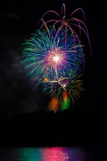 Dillon Reservoir Fireworks 2015 4 by Scott Smith Photos