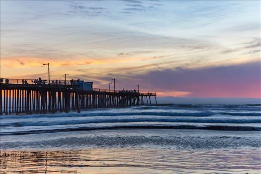 Pismo Beach Pier 2 by Scott Smith Photos