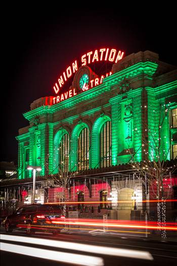 Denver Union Station at Christmas 2 by Scott Smith Photos