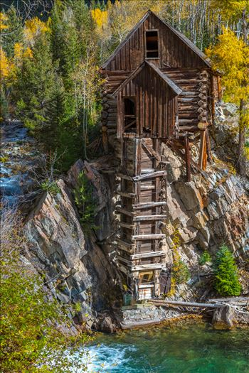 Crystal Mill, Colorado 10 - The Crystal Mill, or the Old Mill is an 1892 wooden powerhouse located on an outcrop above the Crystal River in Crystal, Colorado