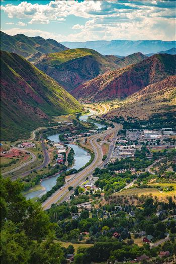Glenwood Springs from Glenwood Caverns No 1 by Scott Smith Photos