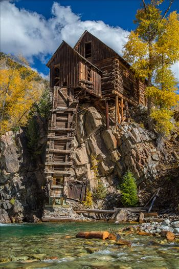 Crystal Mill, Colorado 14 - The Crystal Mill, or the Old Mill is an 1892 wooden powerhouse located on an outcrop above the Crystal River in Crystal, Colorado