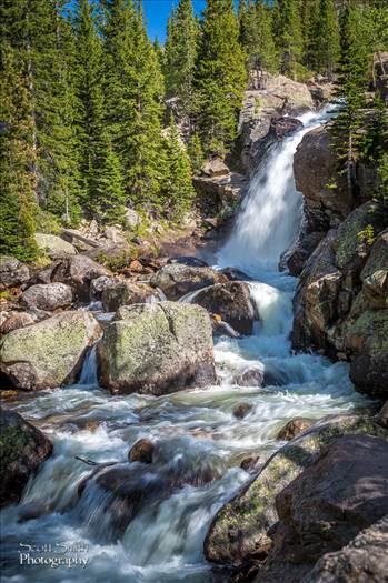 Alberta Falls by Scott Smith Photos