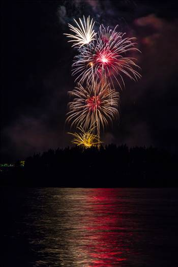 Dillon Reservoir Fireworks 2015 54 by Scott Smith Photos