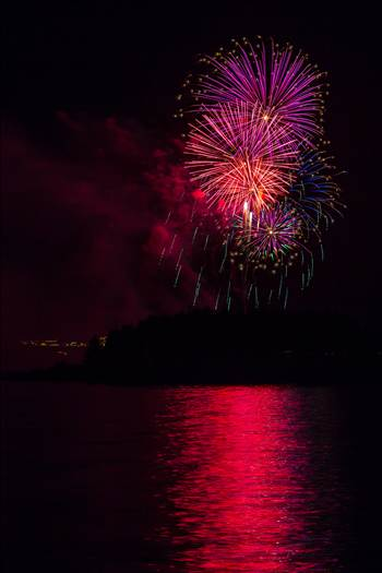 Dillon Reservoir Fireworks 2015 32 by Scott Smith Photos