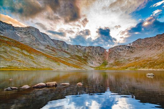 Summit Lake, Mt Evans III by Scott Smith Photos