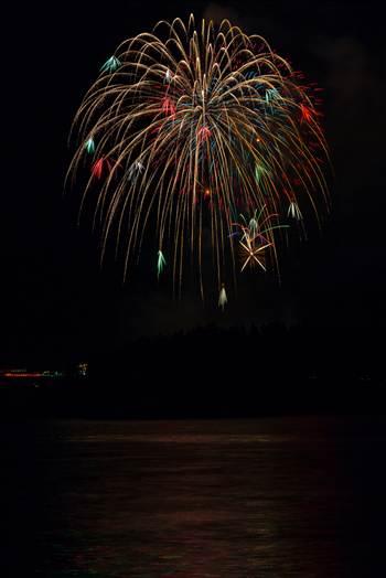 Dillon Reservoir Fireworks 2015 61 by Scott Smith Photos