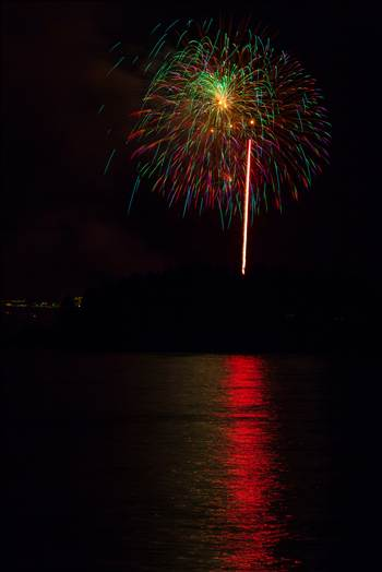 Dillon Reservoir Fireworks 2015 45 by Scott Smith Photos