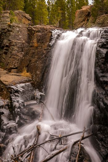 Alberta Falls, Rocky Mountain National Park No 3 by Scott Smith Photos