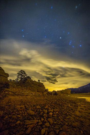 Mary's Lake At Night by Scott Smith Photos