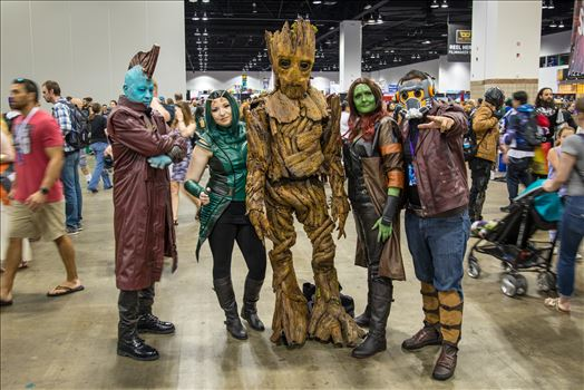 Guadians of the Galaxy at Denver Comic Con 2018 by Scott Smith Photos