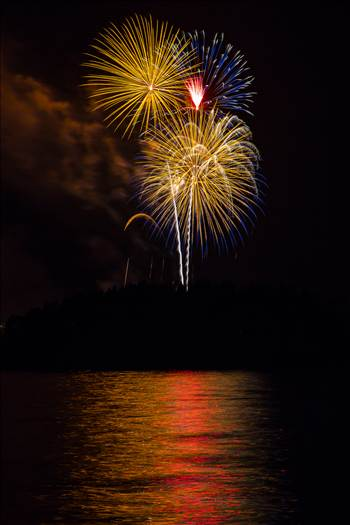 Dillon Reservoir Fireworks 2015 43 by Scott Smith Photos
