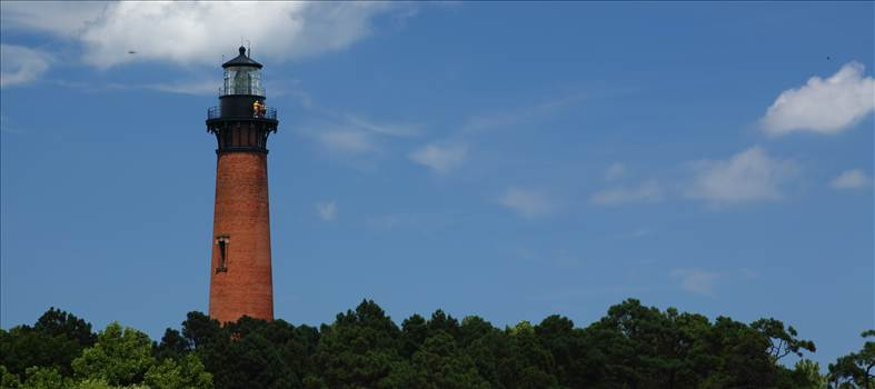 Currituck Lighthouse From Afar by Scott Smith Photos