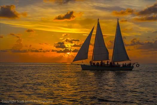 Key West Sunset 2 by Scott Smith Photos