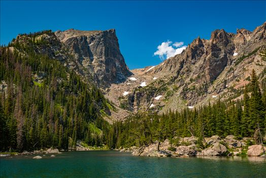 Hallett Peak from Dream Lake by Scott Smith Photos