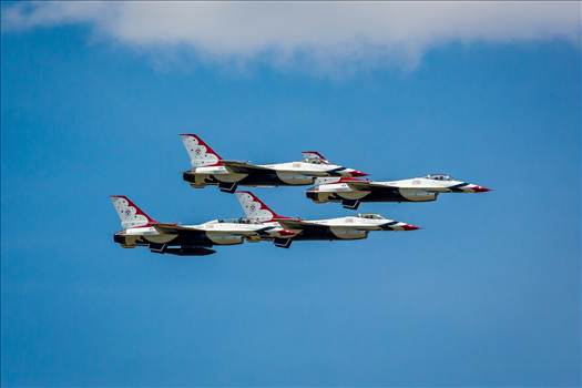 USAF Thunderbirds 28 by Scott Smith Photos
