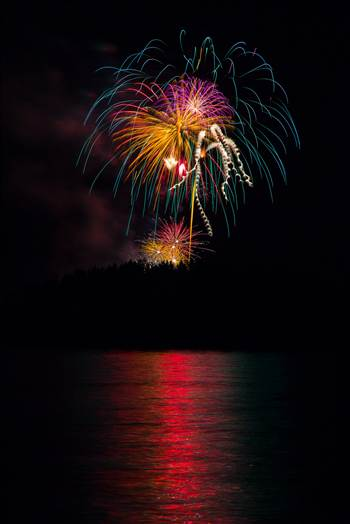Dillon Reservoir Fireworks 2015 41 by Scott Smith Photos