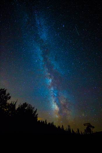 Milky Way and Perseids from Ward by Scott Smith Photos