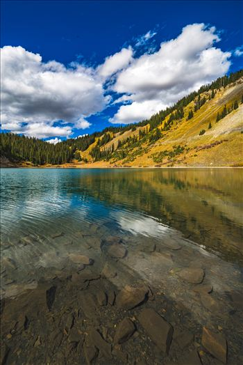 Emerald Lake - A tiny, protected lake near the end of Gothic Road, north of Crested Butte, Colorado.