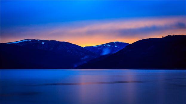 Sunset on Turquoise I by Scott Smith Photos