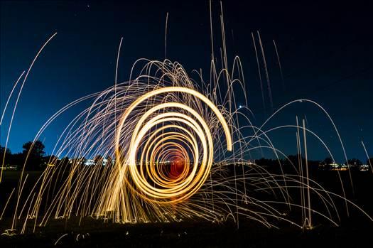 Steel Wool Tunnel II by Scott Smith Photos