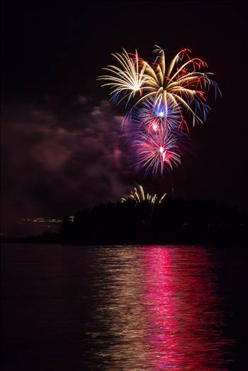 Dillon Reservoir Fireworks 2015 27 by Scott Smith Photos