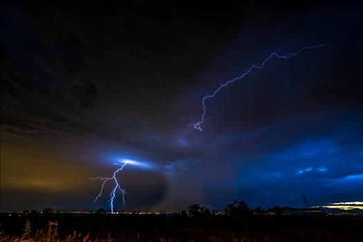 Lightning Flashes 5 by Scott Smith Photos