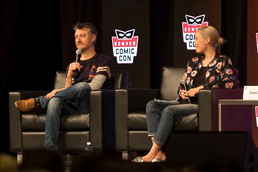Guardians of the Galaxy's Sean Gun and Pom Klementieff at Denver Comic Con 2018 No 2 by Scott Smith Photos