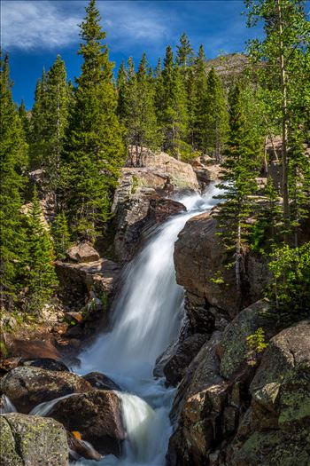 Alberta Falls No 2 by Scott Smith Photos