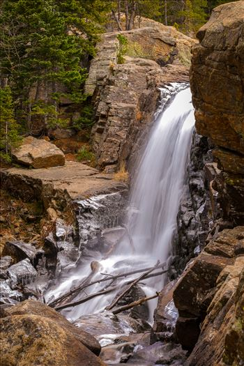 Alberta Falls, Rocky Mountain National Park No 4 by Scott Smith Photos