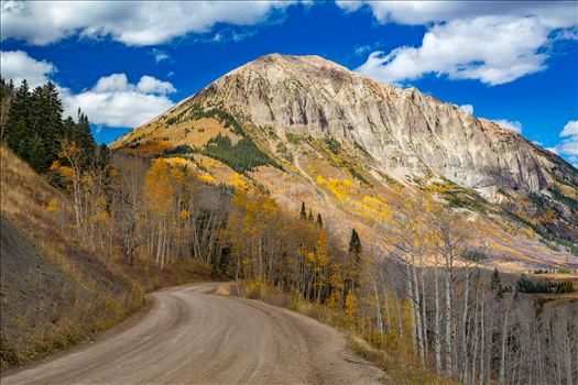 Gothic Road 2 - The view from Gothic Road heading north of Mt Crested Butte in October.