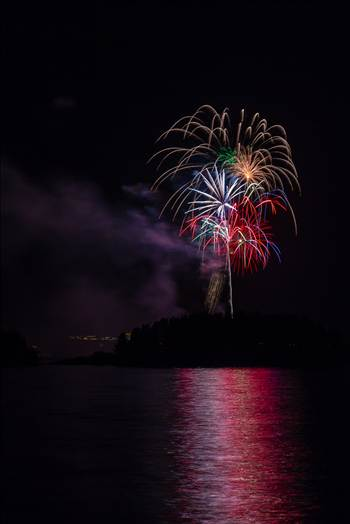 Dillon Reservoir Fireworks 2015 33 by Scott Smith Photos