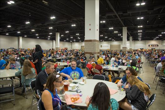 Denver Comic Con 2018 Food Court by Scott Smith Photos