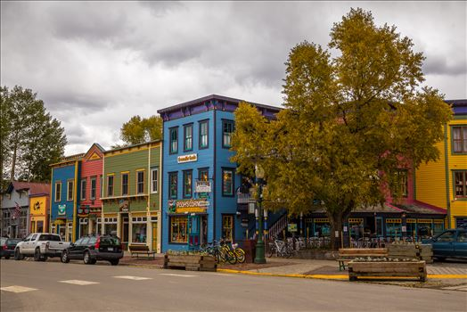 Crested Butte Main Street by Scott Smith Photos