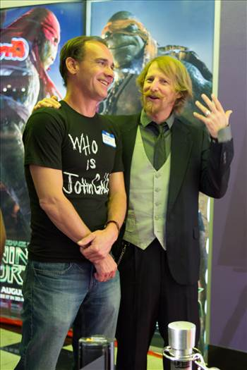 Lew Temple and Yours Truly by Scott Smith Photos