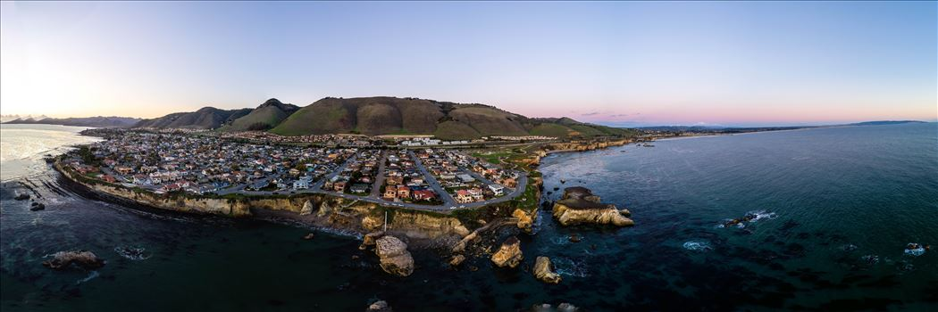 Aerial of Shell Beach, California by Scott Smith Photos