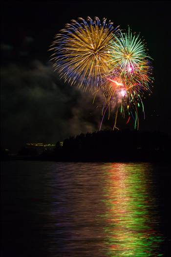 Dillon Reservoir Fireworks 2015 16 by Scott Smith Photos
