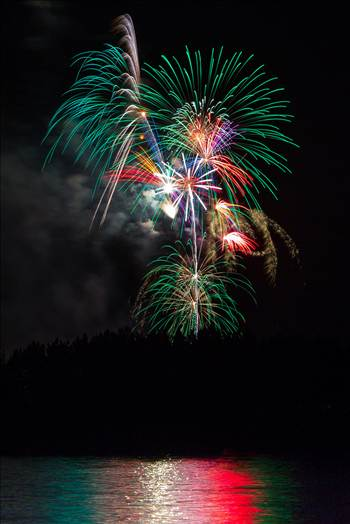 Dillon Reservoir Fireworks 2015 6 by Scott Smith Photos
