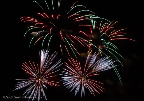 Fireworks in Denver by Scott Smith Photos