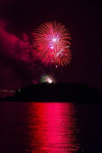 Dillon Reservoir Fireworks 2015 40 by Scott Smith Photos