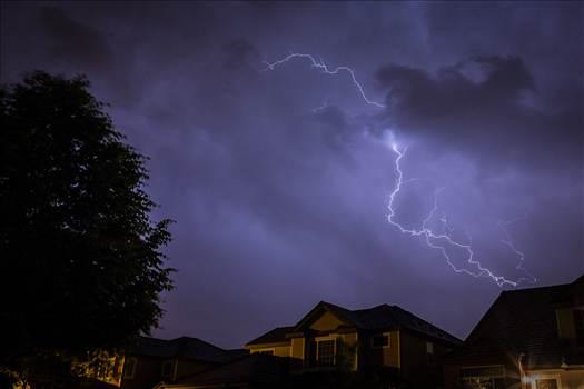 Neighborhood Lightning 2 by Scott Smith Photos