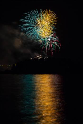 Dillon Reservoir Fireworks 2015 29 by Scott Smith Photos